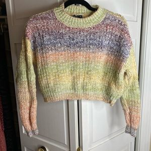 Moon & Madison Women's cropped sweater, XS
